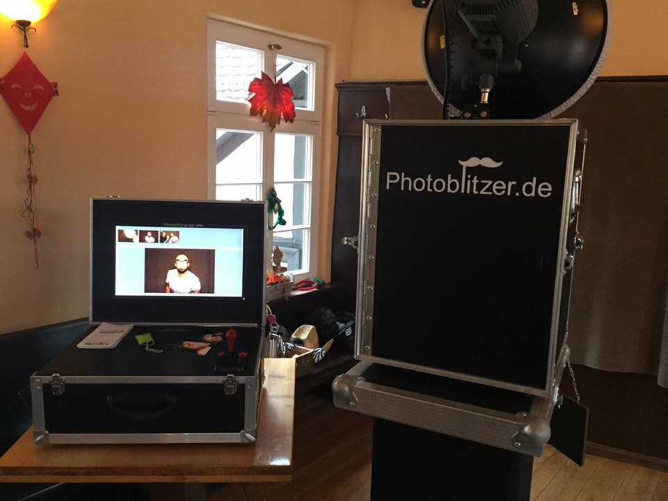 Photobooth Aufbau